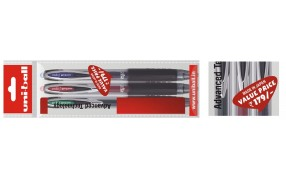 Buy Uni-Ball Signo 207 Gel Ink Pens Pack of 3 Pens @ Rs 179 /-