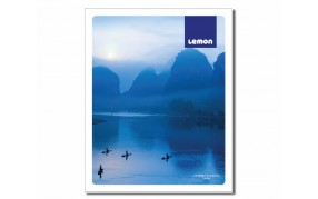 Lemon DC Spl 124 pages Ruled Notebook