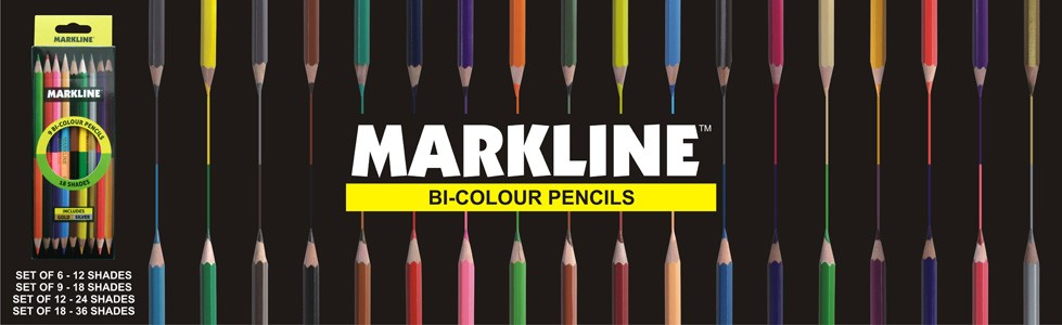 Markline Bi Colour Pencils